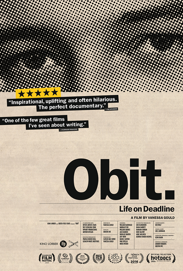 Obit. Documentary by Vanessa Gould